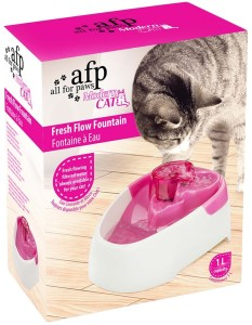 AFP Trinkbrunnen Katze von All for Paws